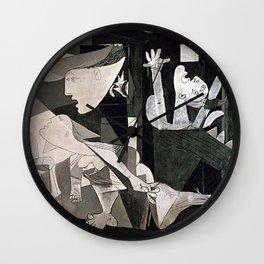 GUERNICA #2 - PABLO PICASSO Wall Clock