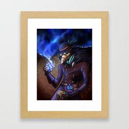 Steampunk Time Traveller Framed Art Print