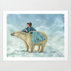 Arctic Queen Art Print