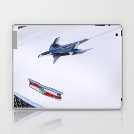 '55 Chevy Hood Ornament Laptop & iPad Skin