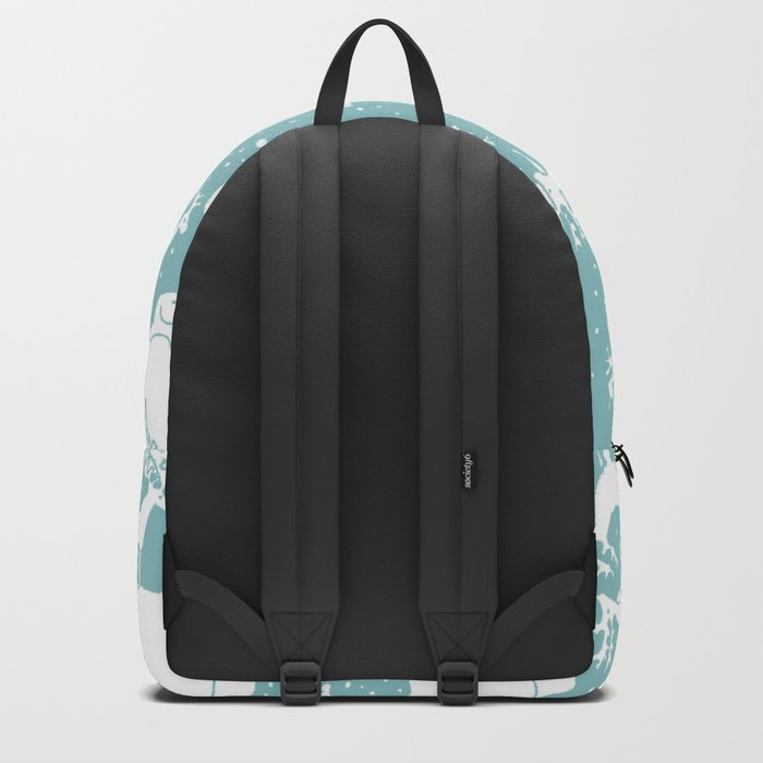 Polar gathering (peppermint) Backpack