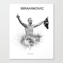 Zlatan Ibrahimovic Canvas Print
