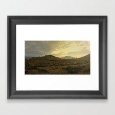 Back to Andalucia Framed Art Print