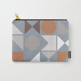 Mid Century Modern Geometric 17 Carry-All Pouch