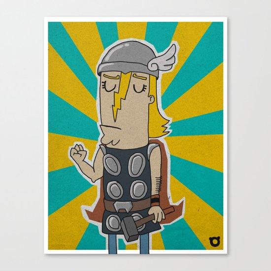 004_thor Canvas Print