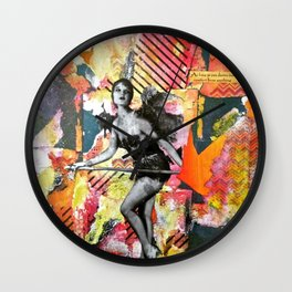 I Get By With a Little Help from Myself Wall Clock