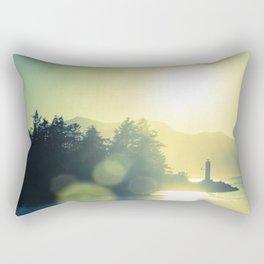 West Coast Lighthouse Rectangular Pillow