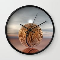 copper Wall Clocks featuring COPPER by VIAINA