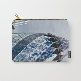 Gherkin Building abstract Carry-All Pouch