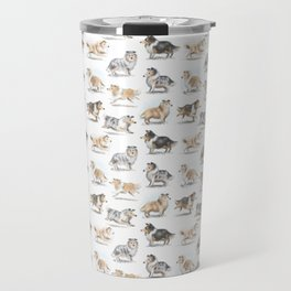The Rough Collie Travel Mug