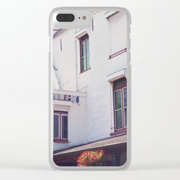 Clogs on the Wall Clear iPhone Case