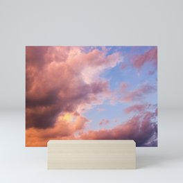 Pink Clouds Mini Art Print