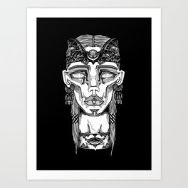 Calakmul Art Print