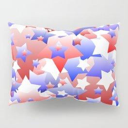 Patriotic Stars Pillow Sham