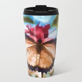 Beautiful Monarch Butterfly Travel Mug