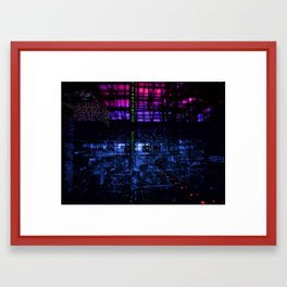Plecostomus Drive Framed Art Print