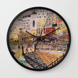 Desires in a Piccadilly Wall Clock
