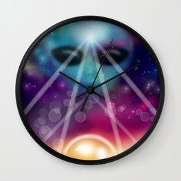 Cosmic Beauties Wall Clock