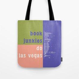 Book Junkies do Las Vegas Tote Bag