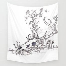 Bygones and Beginnings Wall Tapestry