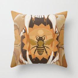 Samson and Delilah Throw Pillow