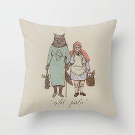 old pals Throw Pillow