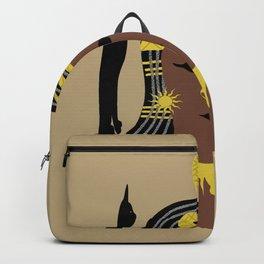 Egyptian goddess Backpack