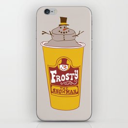 Frosty the Snowman iPhone Skin