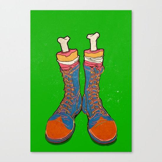 Coulrophobia (Clown Phobia) Canvas Print