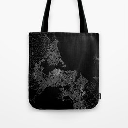 Auckland map New Zeland Tote Bag