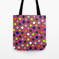 mirror Tote Bags featuring Mirror  by ShivaR