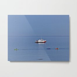 Fun on the Water Metal Print