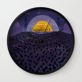 Hollywood Bowl Wall Clock