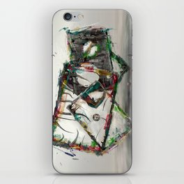 Zeitlose Kunst iPhone Skin