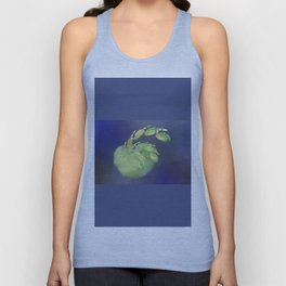 one green Apple   (A7 B0232) Unisex Tank Top