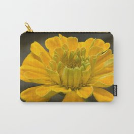 Yellow Flower 52 Carry-All Pouch