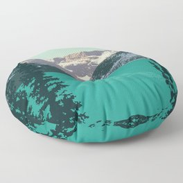 Lake Louise Floor Pillow