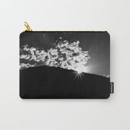 Cloud burst Carry-All Pouch