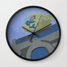Palaven - Mass Effect Wall Clock