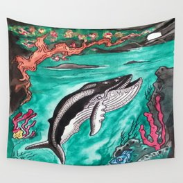 Coromandel  Coast By Night Wall Tapestry
