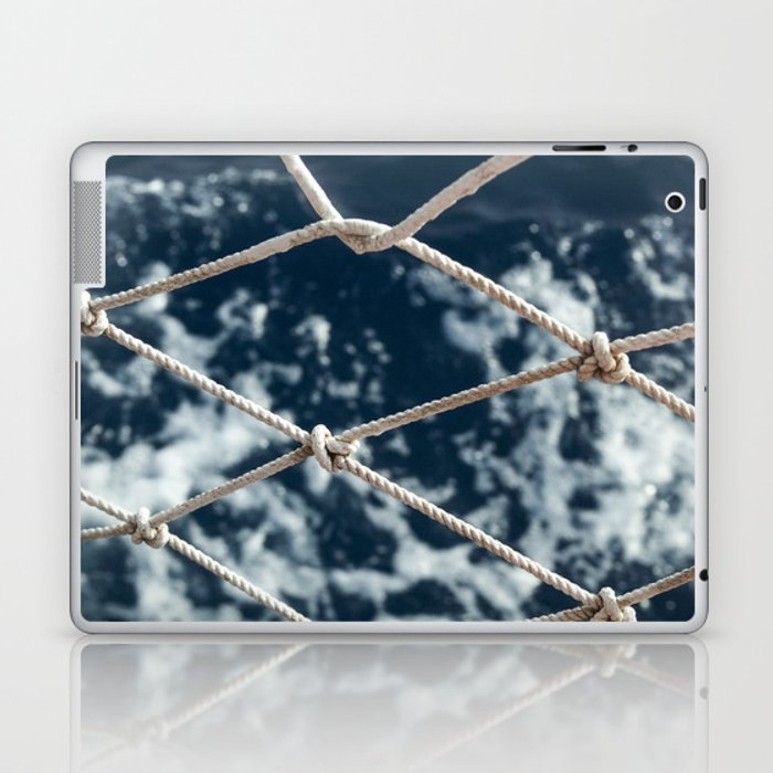 Nautical rope Laptop & iPad Skin