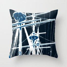 Light's storm Throw Pillow