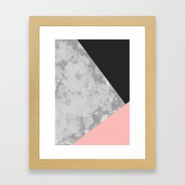Gray Coude Framed Art Print