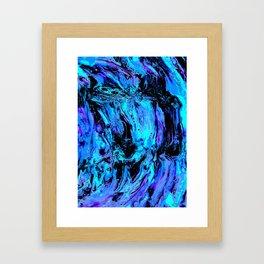 Swirling in my Insanity Framed Art Print