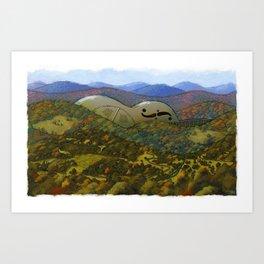 Mountain Music Art Print