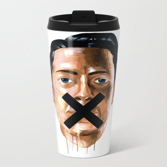 Sorry We're Closed Metal Travel Mug