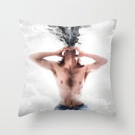 The Storm Within Throw Pillow