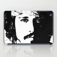johnny depp iPad Cases featuring Johnny Depp by Jeanique van den Berg