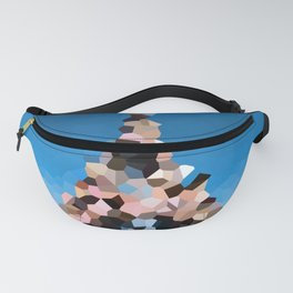 Paris Eiffel Tower Abstract Geometric Fanny Pack