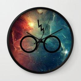 Lightning Scar Cosmos HP Wall Clock